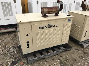 Generac Propane Generator 15kw Single Phase Sound Proof Enclosure 250hours