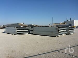 Atco Fold a way Steel Insulated Building 18 X 40 X 80 Use good Condition