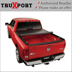 Truxport Roll Up Cover 2009 2018 Dodge Ram 1500 2500 5 7 Short Bed W O Ram Box