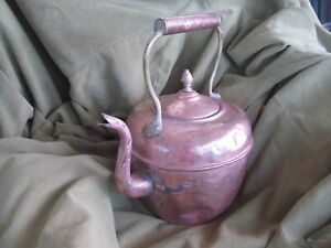 Antique Copper Kettle Made In Morocco Ca 1900
