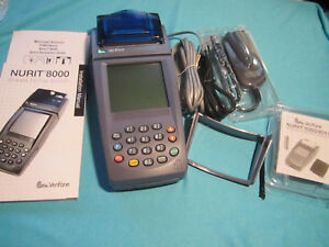 Verifone Nurit 8020 Wireless Mobile Processing Credit Card Terminal Machine