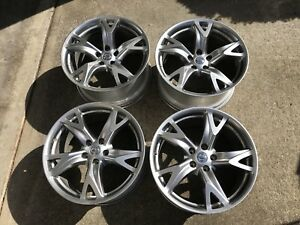 Set Of 4 Used 19 Nissan Rays Forged Wheels Oem 370z Factory Rims 19 370 Z