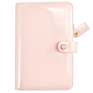 Websters Pages Color Crush Personal Planner Kit W Inserts Patent Petal Pink