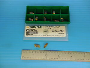 10 Pcs Tool Flo Tf31858j5r Flt 2r 20p Gp3r Carbide Top Notch Grooving Inserts