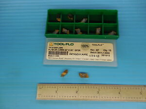 10pc Tool Flo Tf31857j5r Fltb 2r 2 0 Mm 40 X 20 Gp3r Carbide Top Notch Inser