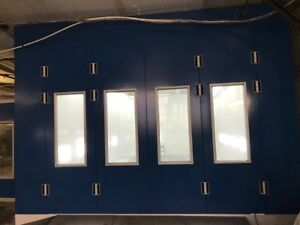 New Paint Booth Doors