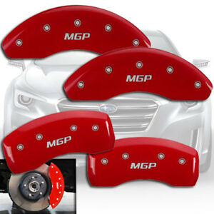 Front Rear Red Mgp Brake Disc Caliper Cover Fits 2014 2018 Subaru Forester 2 0xt