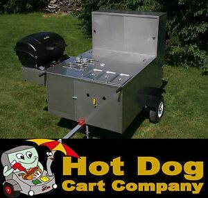Hot Dog Cart Vending Concession Stand Trailer New Patagonia Model