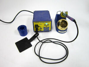 Hakko Fp 102 With Fm 2027 Wand Holder And 599b Tip Cleaner E