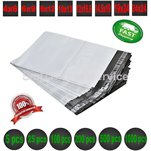 Poly Bags Mailers Envelopes Shipping Self Sealing Plastic Mailing Bags All Sizes