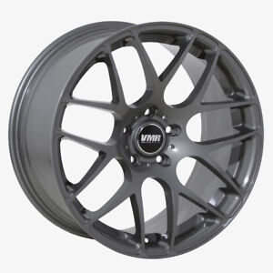 Vmr V710 20x9 10 5x112 Et35 45 Gunmetal Staggered Wheel Set