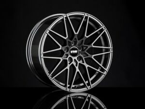 Vmr V801 18x9 5 5x112 25 Anthracite Flow Formed Wheels set Of 4