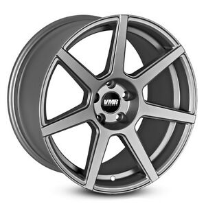 Vmr V706 19x8 5 5x114 3 Et35 Gunmetal Wheels Fit Mitsubishi Lancer Evolution