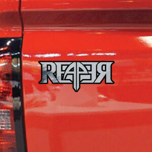 Chevrolet Chevy 2 Color Reaper Graphic Tailgate Window Decal Vehicle Truck Vinyl
