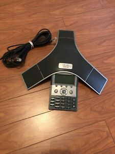Cisco Cp 7937 cp 7937g Unified Voip Conference Station Phone 2201 40100 001