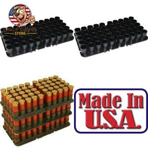 New! Mtm 50 Round 12 Gauge Shotshell Tray Shotgun Ammo Box Sd-100 And Sf-100 Usa