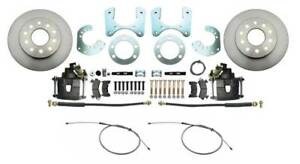 1962 1972 Dodge Dart Scamp Valiant Rear Disc Brake Conversion Kit Cables