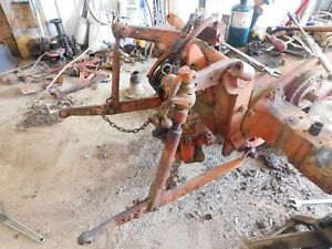 International Farmall 340 Utility 3 Point Fast Hitch Antique Tractor