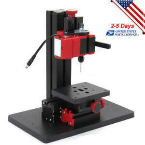 6in1 Mini Wood Metal Motorized Lathe Machine Milling Jigsaw Woodworking Diy Tool