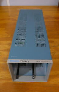 Tektronix Tm502a Power Mainframe 2 slot Chassis For Tm500 Series Plugins