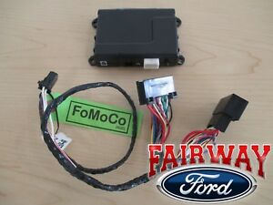 18 20 Super Duty Oem Ford Security System W Remote Start Uses Factory Flip Key