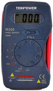 Tekpower M300 Mini Digital Pocket 13 range Ac dc Multimeter With High Accuracy