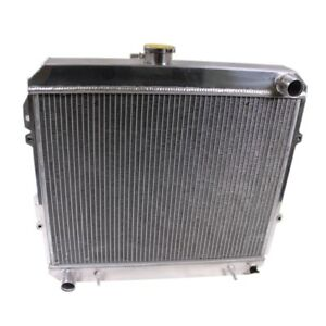 3 Row Full Aluminum Radiator For 88 95 Toyota Pickup Truck 4 Runner 3 0l V6