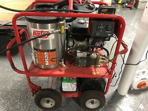 Used Hotsy 1075sse Gas Engine Hot Water Pressure Washer