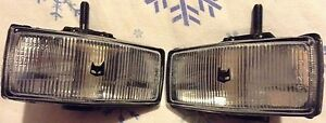 2 New Old Stock Marchal 150 Fog Lights With Buick Covers For Cars Small Truck
