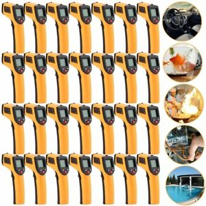 Non contact Ir Laser Infrared Digital Temperature Meter Thermometer 1 20pcs To