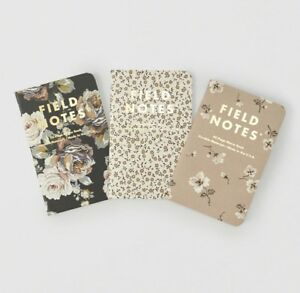 Abercrombie Fitch Field Notes Floral Prints Paper Notebooks Brand New sealed