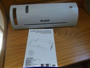 Preowned Scotch 3m Thermal Laminator Tl902 Up To 9 37 Entry Width