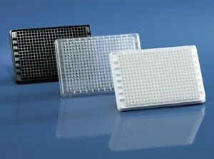 Brand 384 Well Hydrograde Microplate White F bottom 50 pack 781801