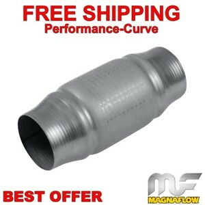 2 5 Magnaflow High Flow Metallic Performance Catalytic Converter 200 Cell 59956