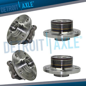 2007 2016 Volkswagen Tiguan Cc Eos Fwd Front Wheel Bearing Rear Hub Assembly
