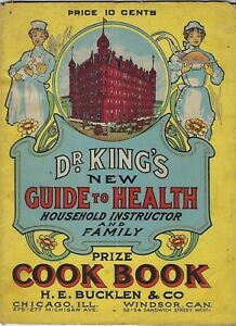 1907 Dr King S Electric Bitters New Life Pills Cure All Bucklen