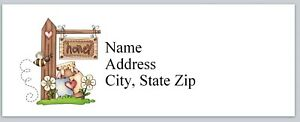 Personalized Address Labels Primitive Country Bee Honey Buy 3 Get 1 Free p 500