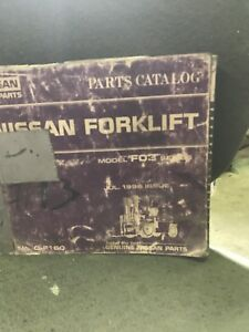 Nissan Fo 3 Forklift Parts Manual