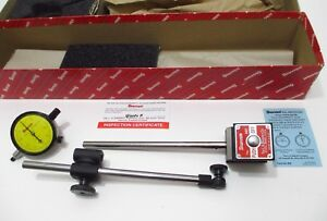 Starrett 657me Mag Base Holder Set Edp 56357 W 25 181 Metric Dial Indicator