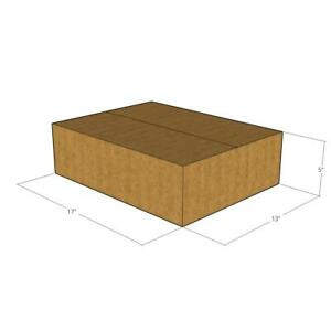 175 lxwxh 17 X 13 X 5 32 Ect New Corrugated Boxes