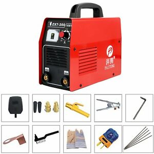 Igbt Zx7 200 Dc Inverter Mma Arc Welding Welder Soldering Machine 220v Us Stock