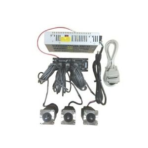 3 Axis Gecko G540 Kit With 381 Oz in Stepper Motor 48v 12 5a