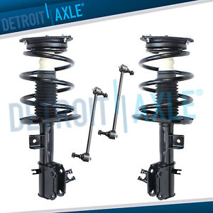 Front Strut Shock Sway Bar Kit For 2009 2010 2011 2012 2013 2014 Nissan Maxima