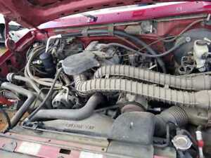 1994 F150 351 Windsor 5 8 Engine Automatic E4od Transmission Pullout Drop Out