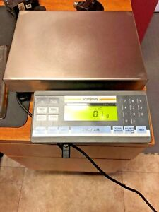 Sartorius Model Qc7dce sour Bench Scale Piece Count