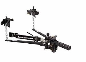 Husky Towing 31621 Trunnion Bar Hitch With Sway Control And Ball Mount