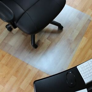 Desk Chair Floor Mat Carpet Protector Rug Pvc Hard Plastic Home Computer Office
