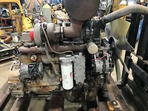 Cummins 6ct8 3 Turbocharged Diesel Engine Running Complete 505 Cu In 202hp