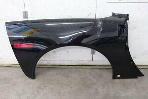 2005 2013 Chevrolet Corvette C6 Rh Rear Passenger Side Fender Coupe Black Gm Oem