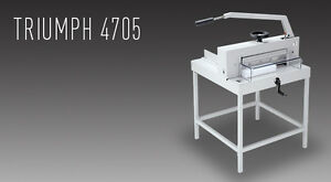 Triumph 4705 Manual Tabletop Cutter New
